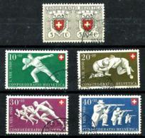 Suiza Nº 497/501 En Usado - Usados