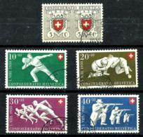 Suiza Nº 497/501 En Usado - Switzerland