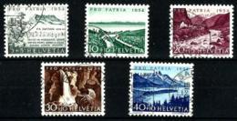 Suiza Nº 548/52 En Usado - Suiza