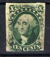 Estados Unidos  Nº 7. Año 1851-6 - Used Stamps