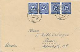 BERLIN - 15.5.48  - Brief Nach Thun / CH - Zone Anglo-Américaine