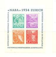 Suisse Bloc-feuillet YT N° 1 Neuf *. B/TB. A Saisir! - Blocks & Sheetlets & Panes