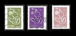 FRANCE  2006 - YT  3967 3968 Et 3969 - Oblitérés - Used Stamps