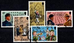 Jersey SG. 299-303 Gestempelt (6561) - Jersey