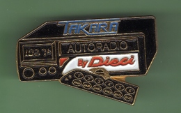 TAKARA AUTORADIO *** 1031 - Marcas Registradas