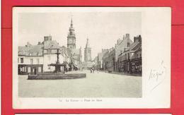 LE CATEAU 1903 PLACE DU REJET FONTAINE CARTE EN TRES BON ETAT - Le Cateau