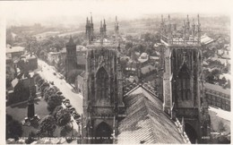 Postcard York The City From The Central Tower Of The Minster RP By Walter Scott My Ref  B13457 - York