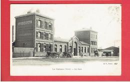 LE CATEAU 1900 LA GARE CARTE EN TRES BON ETAT - Le Cateau