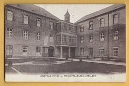 C.P.A. THIONVILLE - BEAUREGARD - Hopital Civil - Thionville