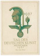 Tag Der Deutschen Kunst à Munich En 1937  - époque Du NSDAP - Weltkrieg 1939-45