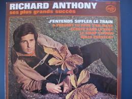 Lot De Cinq Disques 33 Tours 30 Cm-Richard Anthony-Sunlights-Hervé Vilard-Claude François-Adamo - Autres - Musique Française
