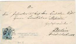 """Lomb. Ven. , 45 C. Enorm Breitrandig  (1850) Bf.klar """" VENEZIA """" , ANK € 100.-   , A459 - 1850-1918 Imperium"""