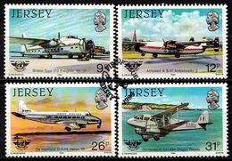Jersey SG. 340-343 Gestempelt (6562) - Jersey