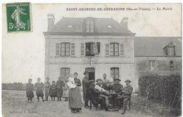 Saint Georges De Grehaigne La Mairie - Unclassified