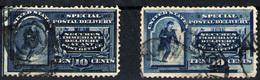 Estados Unidos Nº 4 Y 6. Año 1884/94 - Ongebruikt