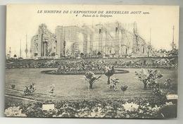 Le Sinistre De L'exposition De Bruxelles Août 1910. Palais De La Belgique - Catastrophes