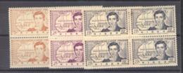 Niger  :  Yv  64-66    **   Blocs De 4 - Niger (1921-1944)