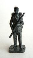 FIGURINE KINDER  METAL SUDISTE 4 1862 SOLDAT CONFEDERE 80's Fer - KRIEGER SÜDSTAATEN Soldat Confederate (2) - Metal Figurines