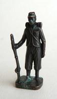 FIGURINE KINDER  METAL NORDISTE 4 1861 SOLDAT CONFEDERE 80's Bruni- KRIEGER NORDSTAATEN UNIONIST 4 (2) - Metal Figurines