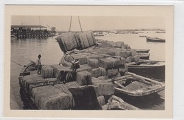 Iquique. Bales Of Jute Bags Arriving For Shipment To The Nitrate Fields And Used For Shipping Nitrate. - Chile
