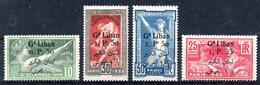 GRAND LIBAN - YT N° 45 à 48  - Neufs Sg - Cote: 160,00 € - Great Lebanon (1924-1945)
