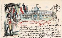1896, Sängerfest Stuttgart, GA!  , A463 - Wurttemberg
