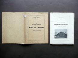 Vicende Storiche Del Monte Della Madonna S. Zenone Degli Ezzelini Tedesco 1938 - Books, Magazines, Comics