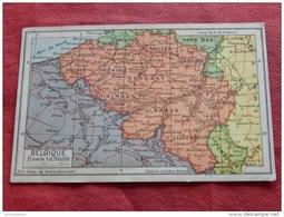 CARTE GEOGRAPHIQUE  - Belgique  - - Cartes Géographiques