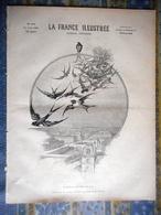 LA FRANCE ILLUSTREE 20/04/1895 HIRONDELLE THADEE PARIS RUE MECHAIN DUC AOSTE HELENE D ORLEANS G RI BARON DES ROTOURS LIL - Periódicos