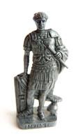 FIGURINE KINDER  METAL SOLDAT ROMAIN 100 à 300 Ap JC  3 RP LEGAT 80's Fer - KRIEGER RÖMER Légat (2) - Metal Figurines
