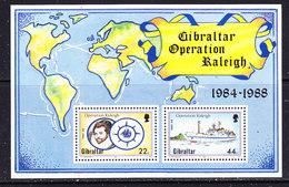 Gibraltar 1988 Operation Raleigh  M/s ** Mnh (43570) - Gibraltar