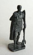 FIGURINE KINDER  METAL SOLDAT ROMAIN 100 à 300 Ap JC  2 RP RETIAIRE 80's Fer - KRIEGER RÖMER Retiarus (2) - Figurines En Métal