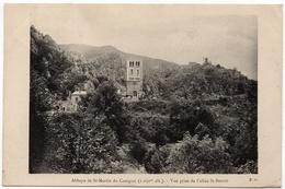 Saint Martin Du Canigou : L'abbaye, Vue Prise De L'allée St-Benoit (Edit. F.G.) - Frankreich