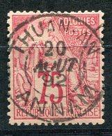 COLONIES GENERALES N°58 AVEC OBLITERATION THUAN-AN 20 AOUT 92 ANNAM - Alphee Dubois