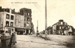 N°74448 -cpa Granville -la Route Villedieu- - Granville