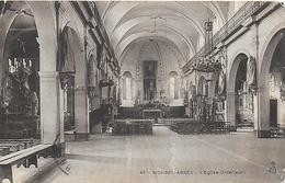 Algérie)   SIDI BEL ABBES  - L' Eglise Intérieur - Sidi-bel-Abbès
