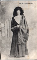 MALTA -- Maltese Lady - Malta