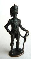 FIGURINE KINDER  METAL SOLDAT NAPOLEONIEN OFFICIER 1 -   NAPOLEONISCHE Bruni - Figurines En Métal