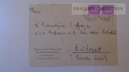 ZA224.35 Germany-Nürnberg 1930- Organ Für Die Forschritte Des Eisenbahnwesens Railways -sent To Budapest Prof.Pattantyús - Briefe U. Dokumente
