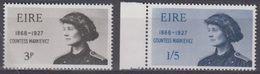 Ireland 1968  Constance Markiewicz 2v ** Mnh (43571C) - Ongebruikt