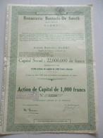 Bonneterie Bosteels - De Smeth - Alost - Action De Capital - Textile