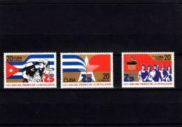 Cuba Nº 2510 Al 2512 - Cuba