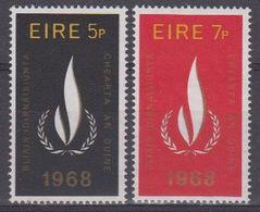 Ireland 1968  Human Rights 2v ** Mnh (43571D) - Ongebruikt