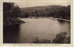 58 En Morvan N°126 Le Saut De La Canche Barrage De L'Usine Electrique En 1935 Vers Chateau Chinon - Chateau Chinon