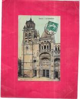 GISORS - 27 - CPA COLORISEE De La Cathédrale - ROY2/ARD - - Gisors