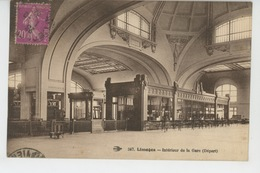 LIMOGES - Intérieur De La Gare - Limoges