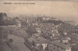 BERGAMO-CITTA ALTA VISTA DAL CASTELLO-CARTOLINA VIAGGIATA TRA IL 1910-1920 - Bergamo
