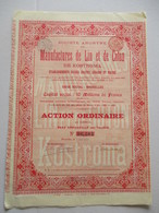 Manufactures De Lin Et De Coton - Kostroma - établissements Russes Gratry Gérard Et Mikine - Russie