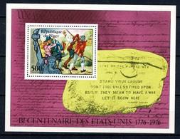 Niger 1976  Yv. Bl 14** Bicentenaire Des Etats Unis 1776-1976 - Niger (1960-...)