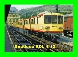 AL 214 - Automotrice Z 115 En Gare - LATOUR DE CAROL - Pyrénées Orientales - Ligne De La Cerdagne / SNCF - Trains
